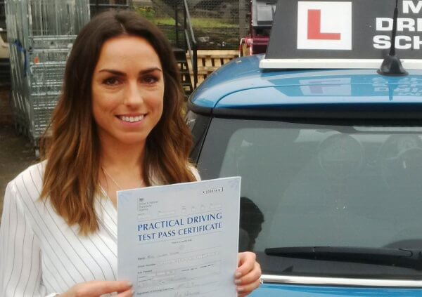 Learn how to drive with mini driving school like Lauren Colvin did!