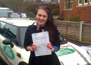 Driving lesson pass in Redhill