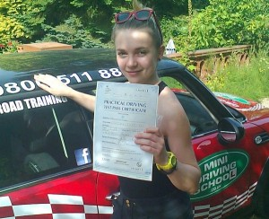 Reigate Passed Driving Test